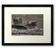 Like lesser birds on the four winds Framed Print