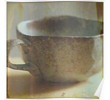Old teacup Poster