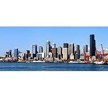 Seattle Skyline Fourteen Photographic Print