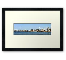 Seattle Skyline Thirteen Framed Print