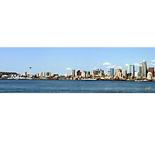 Seattle Skyline Thirteen Photographic Print