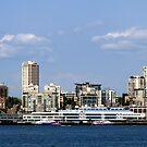 Seattle Skyline Eleven by Rick Lawler