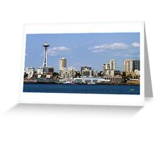 Seattle Skyline Eleven Greeting Card