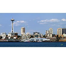 Seattle Skyline Eleven Photographic Print