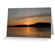 Shadow of Blondin Island  Greeting Card