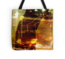 there is no peace in uncontrolled noise ...  Tote Bag