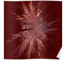 Tribal Cave Painting Poster