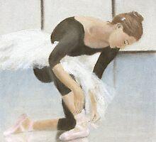 Ballet Study 2 by Simon Milne