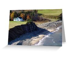 A Home By The Sea Greeting Card