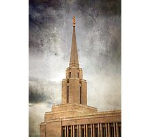 Oquirrh Mountain LDS Temple Photographic Print