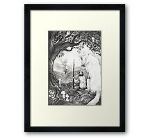 Between the roots and the branches Framed Print
