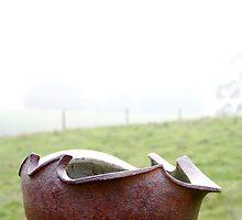 A Vellu Pot In A Landscape/View 5 by Vellu