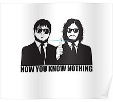 NOW YOU KNOW NOTHING Poster