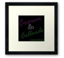 Crown & Collards show logo Framed Print