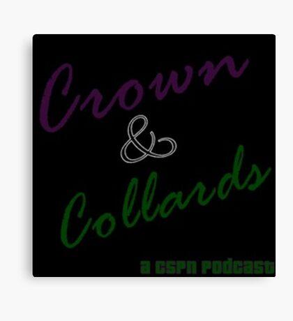 Crown & Collards show logo Canvas Print