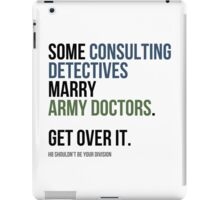 Some Consulting Detectives... iPad Case/Skin