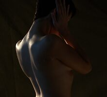 The Back of a Girl 1 by Joseph Bailouni