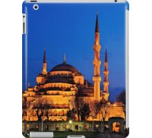 The Blue Mosque & its 6 minarets iPad Case/Skin
