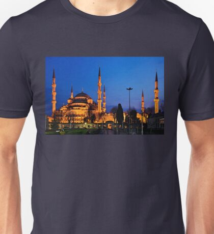 The Blue Mosque & its 6 minarets Unisex T-Shirt