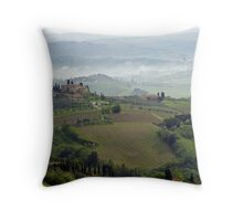 Tuscan Landscape III Throw Pillow