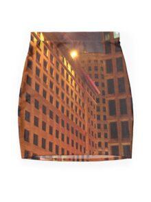 Downtown at night Mini Skirt