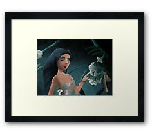 Fantasy Bloom Fairy Framed Print