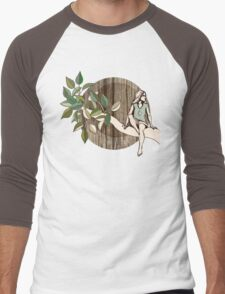 Natural Habitat Men's Baseball ¾ T-Shirt
