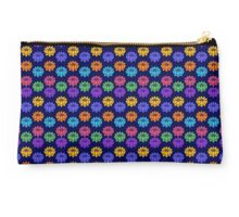 Lotus Chakras, Cosmic Energy Centers, Evolution, Meditation, Enlightenment Studio Pouch