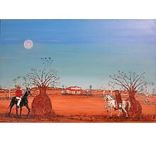 """Ned Kelly """"Showdown at the Bank""""  Australia. Original for Sale Worldwide; SOLD Photographic Print"""