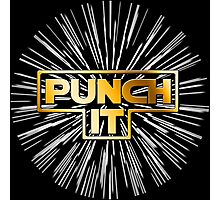 Punch It ! Photographic Print