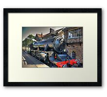 No.45407 'The Lancashire Fusilier' at Grosmont. Framed Print