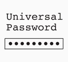 Universal Password, Funny by Ron Marton