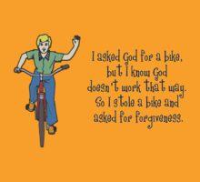 I stole a bike T-Shirt