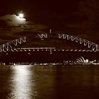 Opera House illuminated III by Dean Perkins