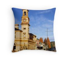 Beechworth Post Office Throw Pillow