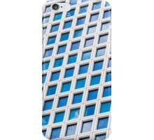 Windows of an office building form a pattern  iPhone Case/Skin