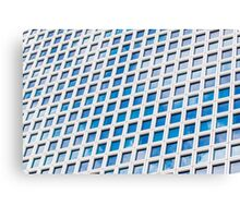 Windows of an office building form a pattern  Canvas Print