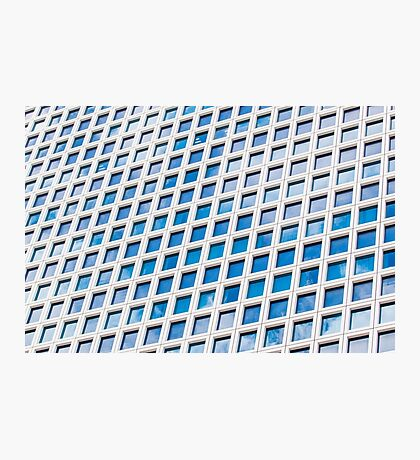 Windows of an office building form a pattern  Photographic Print