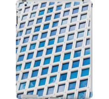Windows of an office building form a pattern  iPad Case/Skin