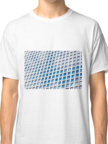 Windows of an office building form a pattern  Classic T-Shirt