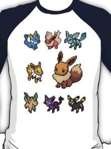eeveelution sticker pack T-Shirt