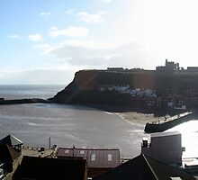 Whitby Harbour by ngnine