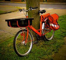 The Postman's bike by Pat Shawyer