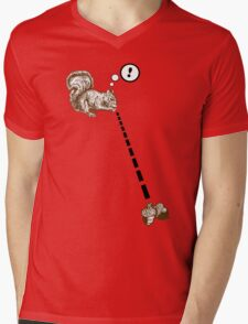 Watch Your Nuts! Mens V-Neck T-Shirt