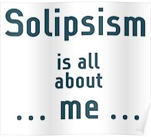 Solipsism Poster