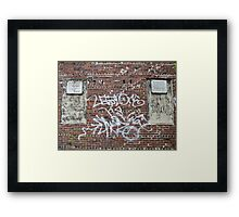 Weehawken Street Framed Print