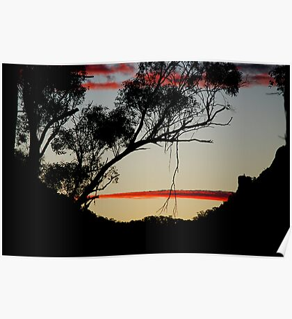 At the Close of Day - Gloucester NSW Poster