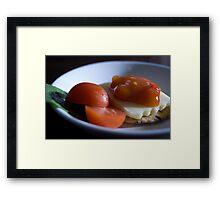 Cheese & Chutney Framed Print