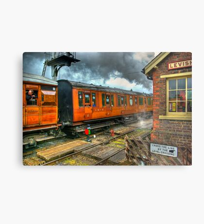 The Way Travel Used To Be Metal Print