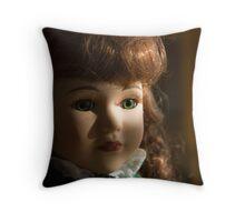 Irish Dancing Doll Throw Pillow